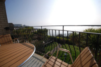 Balcony overlooking Ventnor Bay